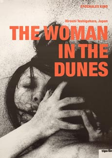 woman in the dunes (poster)